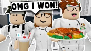 I WENT ON A COOKING SHOW AND WON! (Roblox Bloxburg) Roblox Roleplay