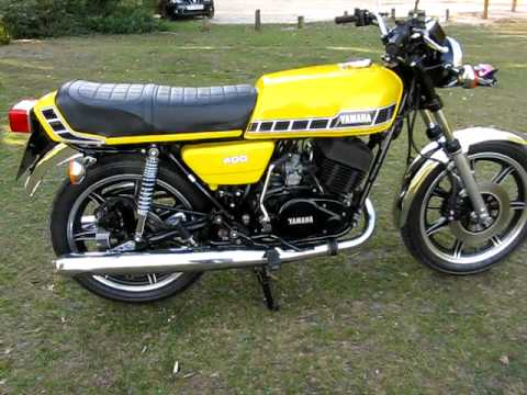 1976 1979 Yamaha Rd400 Two Stroke Motorcycle Service Manual