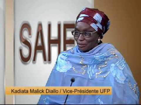 Kodo Sahel Kadiata Malick Diallo Vice Présidente du Parti UFP