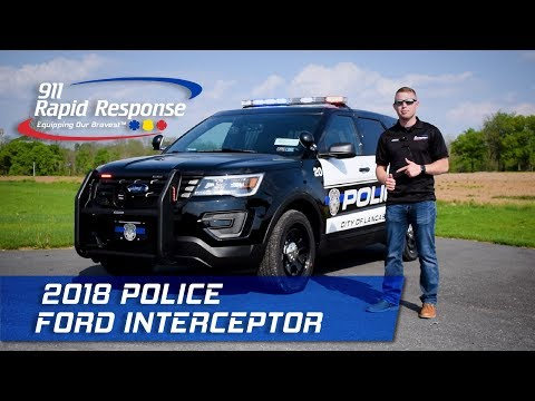 2018 Police Ford Interceptor | 911RR