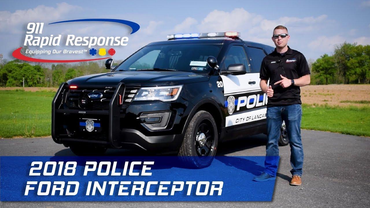 2018 Police Ford Interceptor 911rr Youtube