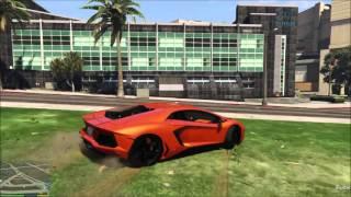 Download Video Grand Theft Auto V [MOD] : Lamborghini Aventador ( car mod ) [PC][HD] MP3 3GP MP4