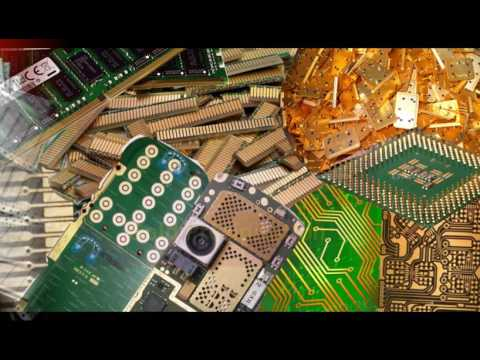 Eco-Goldex (E) gold stripping and recovery process from electronic waste  and jewlery materials