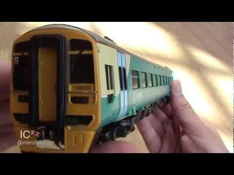 Model Railway Train Layouts -Opening the Class 158 in Arriva by Bachmann