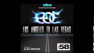 EDC 2013 - Los Angeles To Las Vegas (Road Trip Mix)