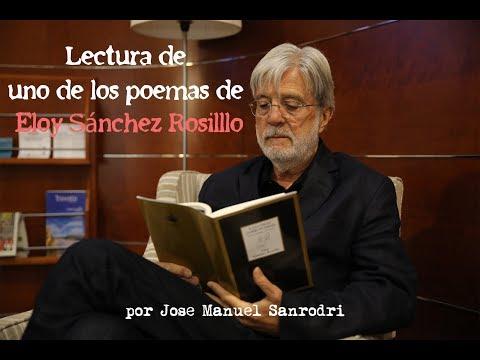 Lectura de un poema de Eloy Sánchez Rosillo en el Gran Teatro de Elche (Diario de Alicante)