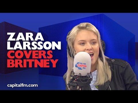 Zara Larsson Covers Britney