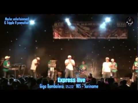 Giga Bambolero 2012 the full show with Express - Raymond Ramnarine & Mahendra Ramkellawan