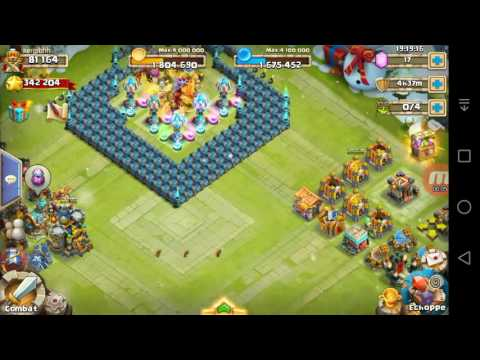 Castle Clash- BEST TH18 BASE HBM S