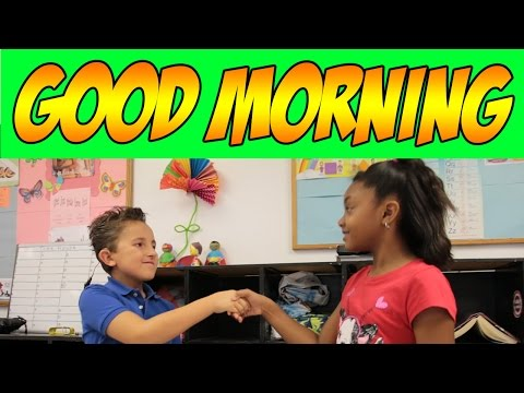 good morning song for circle time the learning station kidsafevideos. Black Bedroom Furniture Sets. Home Design Ideas