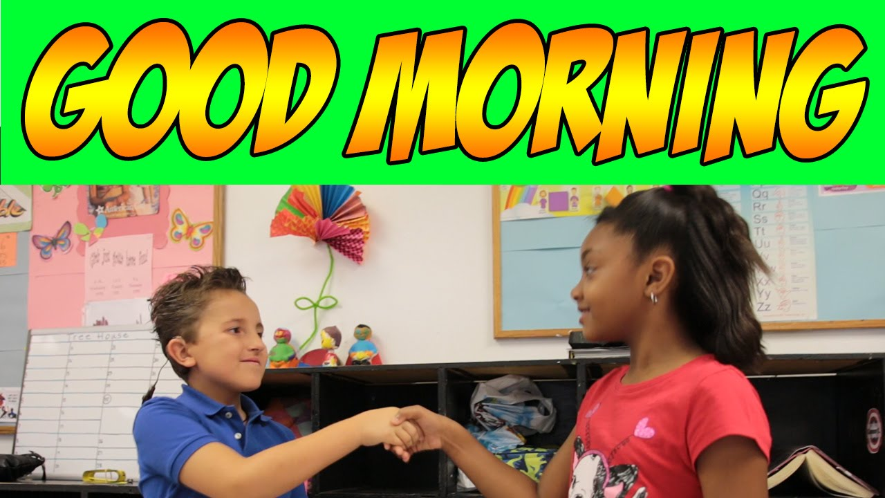 Good Morning Song Good Morning Song For Children Kids Songs By