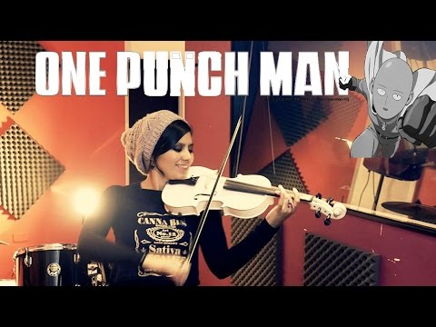 ONE PUNCH MAN (The Hero!!) ❤ VIOLIN ANIME COVER!