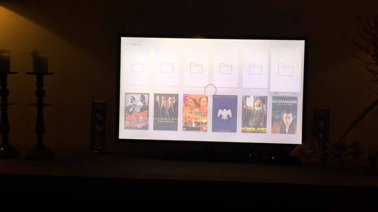 Infuse Pro 4 on Apple TV 4 - demo streaming from NAS