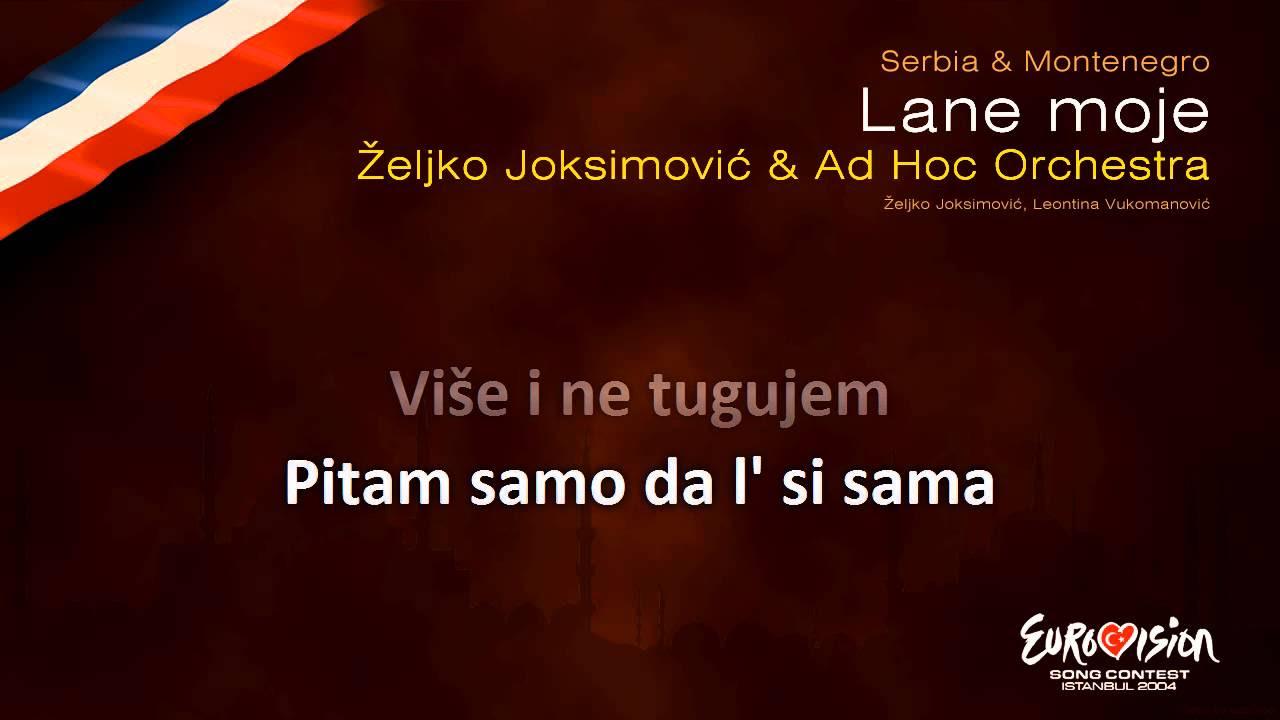Željko Joksimović - Lane Moje (lyrics in english)