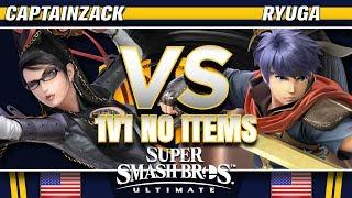 CaptainZack (Bayonetta) vs Ryuga (Ike) - SSBU Demo - TBH8