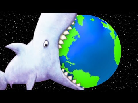 GIANT SHARK EATS THE EARTH - Tasty Blue Ending | Pungence