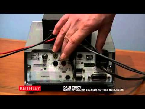 High Resistance Measurements using Keithley