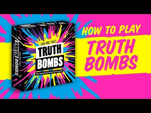 How To Play Truth Bombs | By Dan & Phil (and Big Potato)