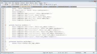 Создание движка. ADMIN панель 5.5