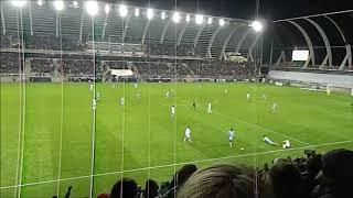 Amiens SC /Monaco ambiance stade de la licorne