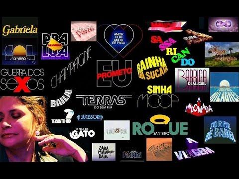 Novelas Globo Anos 80 90 E 2000 Youtube