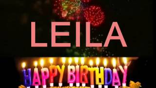 Joyeux anniversaire Leila (ntizi Ahmed) lol