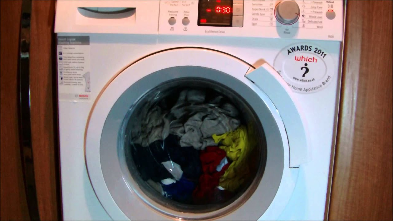 Bosch logixx was32461gb washing machine mix overload cycle youtube bosch logixx was32461gb washing machine mix overload cycle buycottarizona Gallery