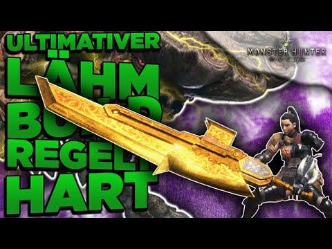 Monster Hunter World - Mit diesem Build lähmst du alles - MHW Morph Axt Lähm Build Deutsch
