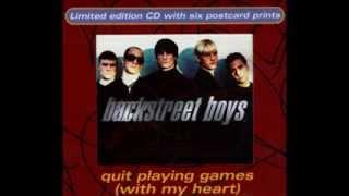 Backstreet Boys- Quit Playing Games (LP Version/Brian