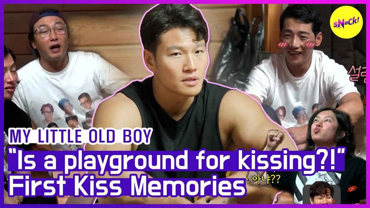 [HOT CLIPS] [MY LITTLE OLD BOY] JONGKOOK's first kiss💘, even his mother didn't know⁉ (ENG SUB)