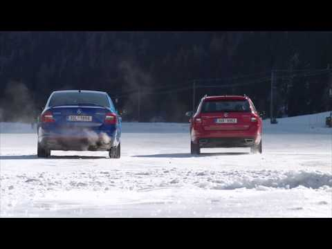 SKODA 4x4 Winter Discovery - Austria