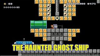 Awesome Super Mario Maker Ghost Ship Themed Level By Xypher , Cleared + A Speedrun For World Record!