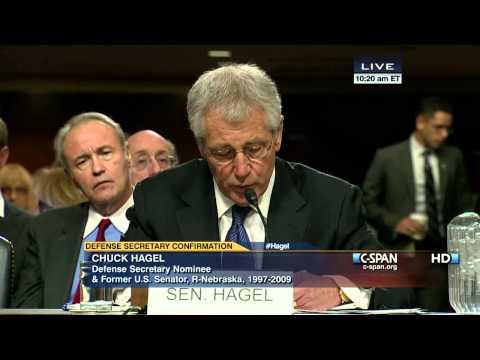 Chuck Hagel Opening Statement (C-SPAN)
