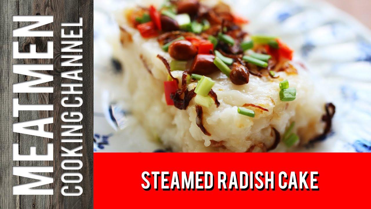 Steamed Radish Cake 萝卜糕 Youtube