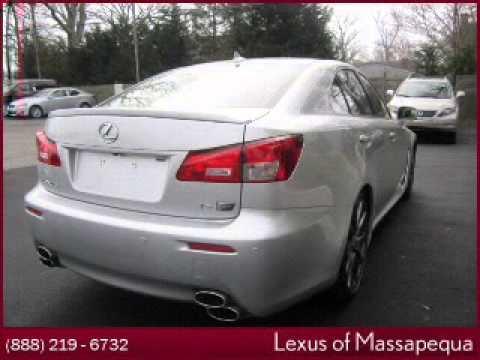 Lexus Of Massapequa >> 2008 Lexus Is F Massapequa Park Ny