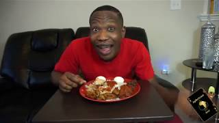 Aceman eats rice and stew! - Aphricanace Comedy