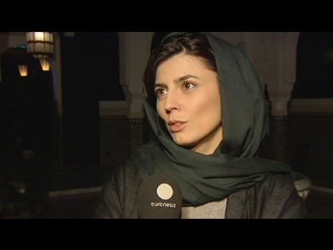 euronews interview - Film star Leïla Hatami on making movies in Iran
