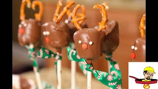 Chocolate Marshmallow Reindeer - CHRISTMAS