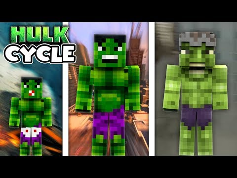 Minecraft / The Life Cycle Of The Incredible Hulk!! thumbnail