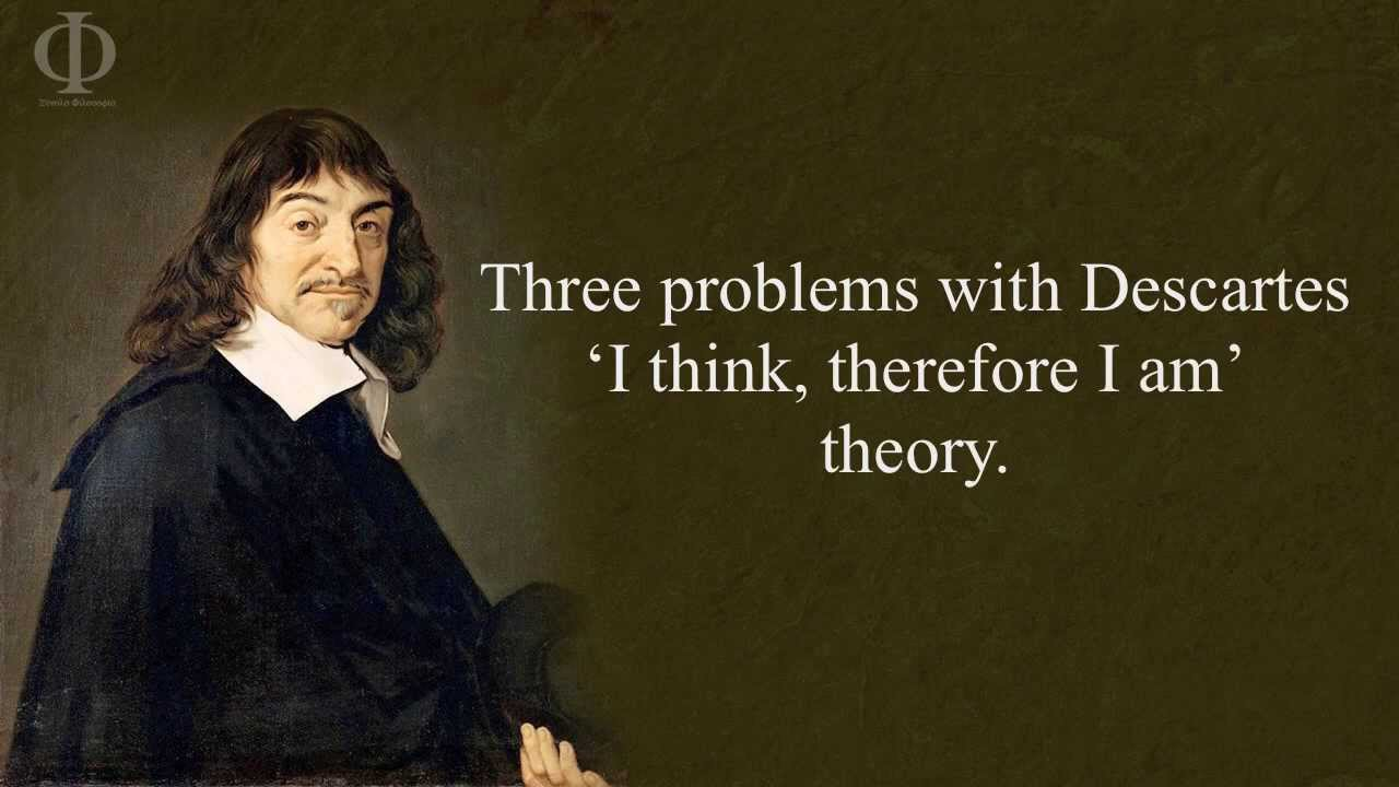 descartes i think therefore i am essay It is the purpose of this essay to examine both descartes' cogito argument and his i think, therefore i am essay about descartes' cogito descartes.