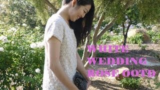 Owl Style : White Wedding Rose Outfit and VLOG Thumbnail