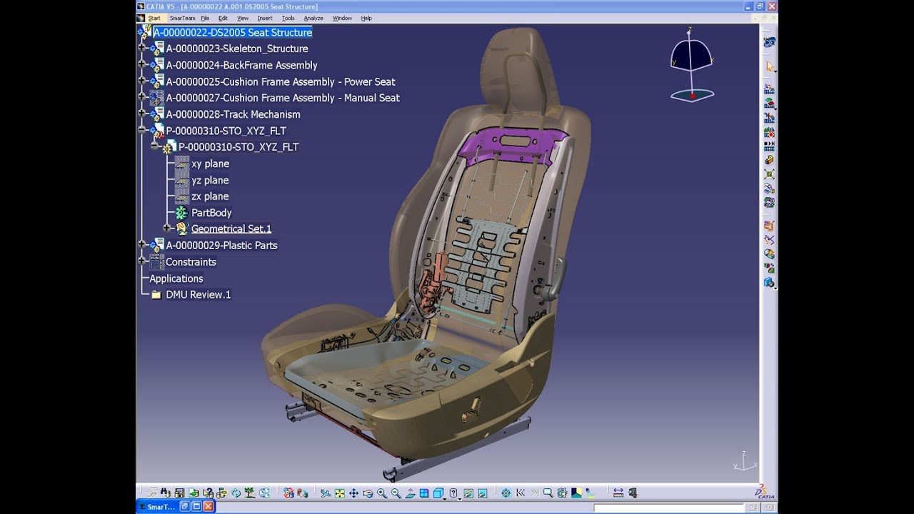 Catia V5 Tutorials Part Design Pad Drafted Filleted Pad