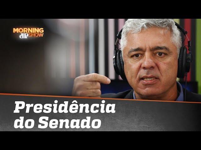 Major Olímpio explica porque desistiu de concorrer à presidência do Senado