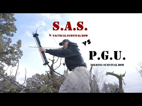 SAS Tactical Survival Bow VS Primal Gear Unlimited Survival Bow