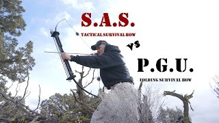 SAS Tactical Survival Bow VS Primal Gear Unlimited Survival Bow