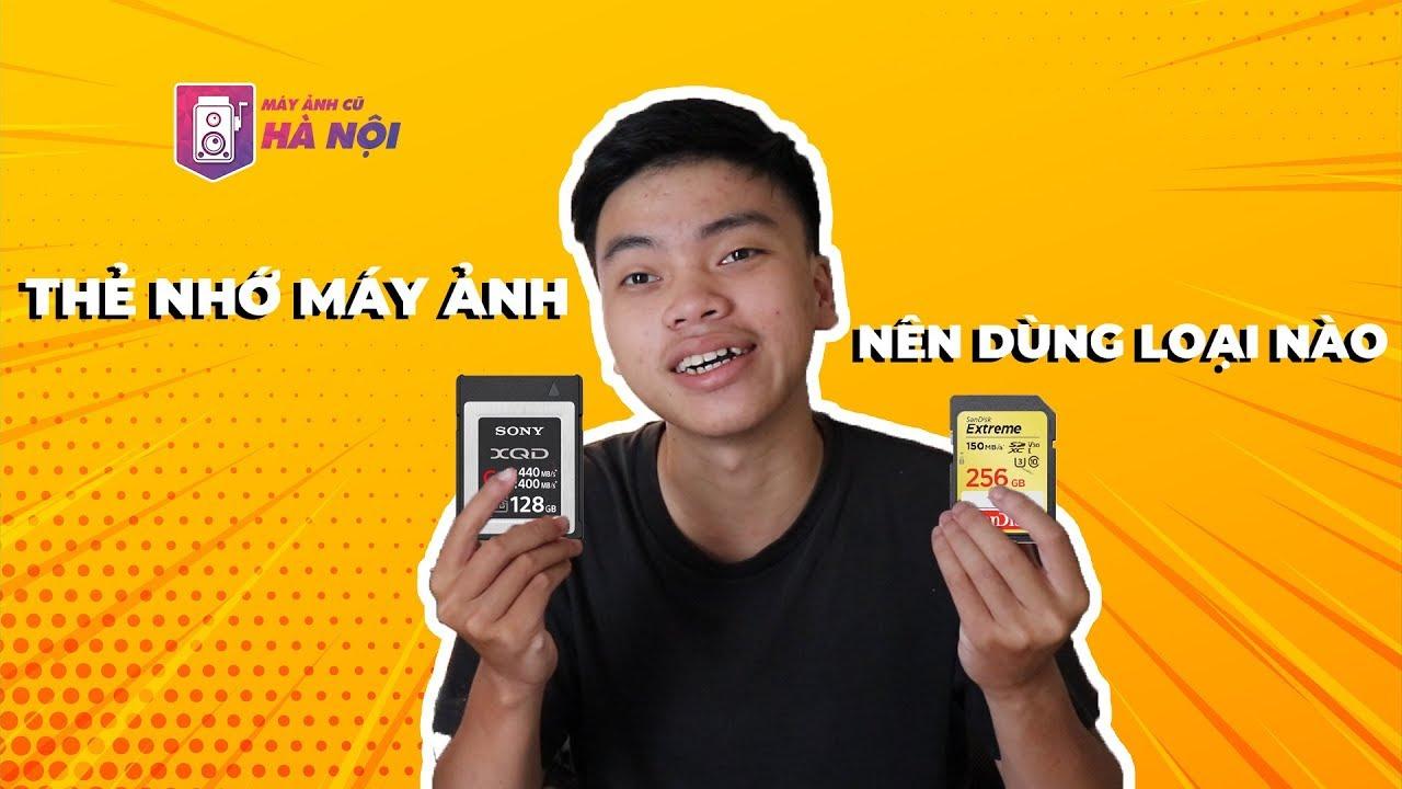 Thẻ nhớ SD & CF- Máy ảnh cũ Hà Nội