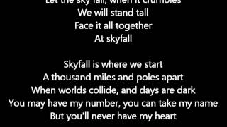 Adele Skyfall Lyrics