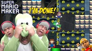 I'M SO F#%KING DONE WITH THIS SH#T!! [SUPER MARIO MAKER] [#63]