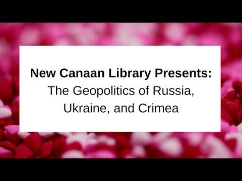 The Geopolitics of Russia, Ukraine, and Crimea October 22, 2017