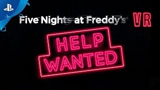 Five Nights at Freddy's VR: Help Wanted - Launch Trailer | PS VR
